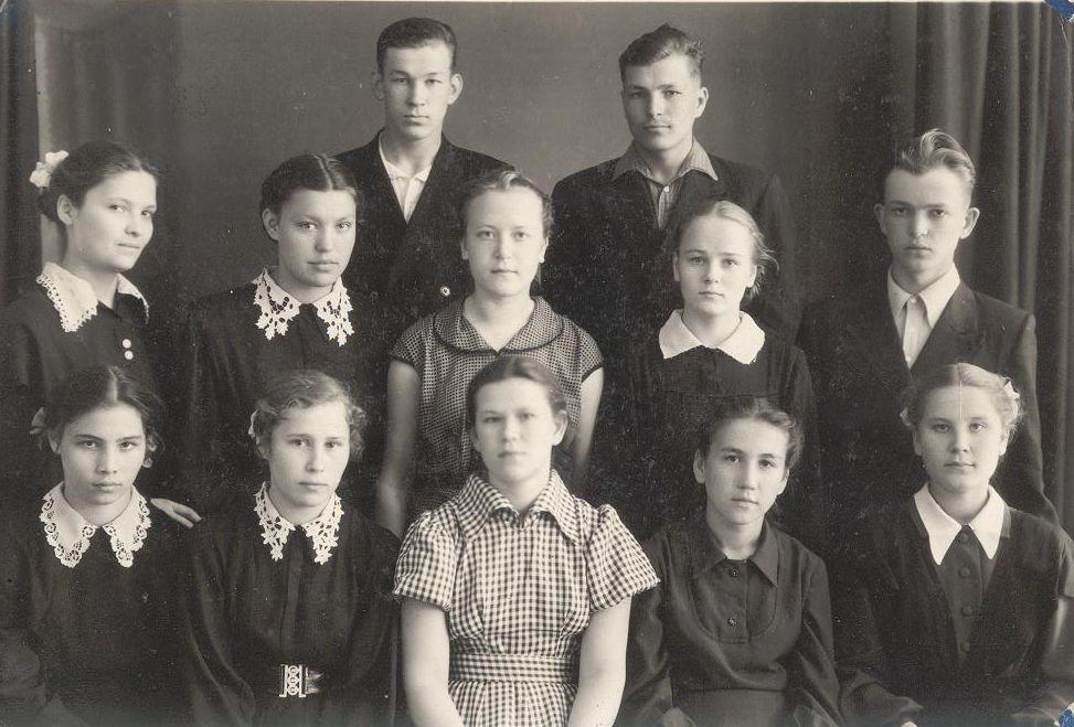 1958г 10Б кл школа 16 Кемерово