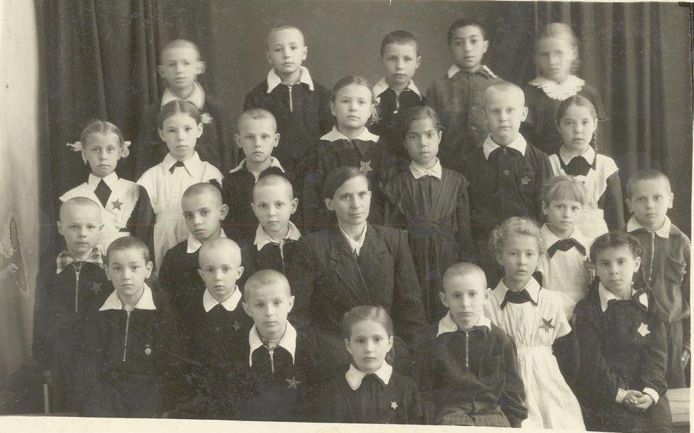 1958 г 1 кл. фото Снеговой Тамары школа 16 Кемерово