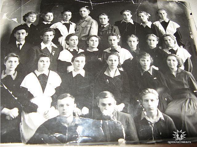 1960 год 10 А кл школа 16 Кемерово
