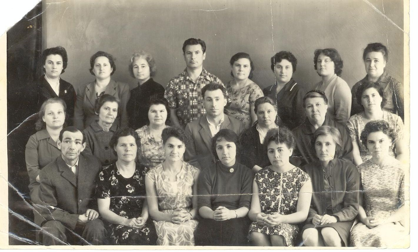 1963 год педколлектив школа 16 Кемерово