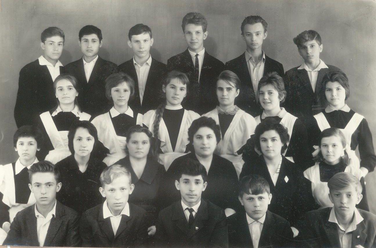 1964 год 8 кл школа 16 Кемерово