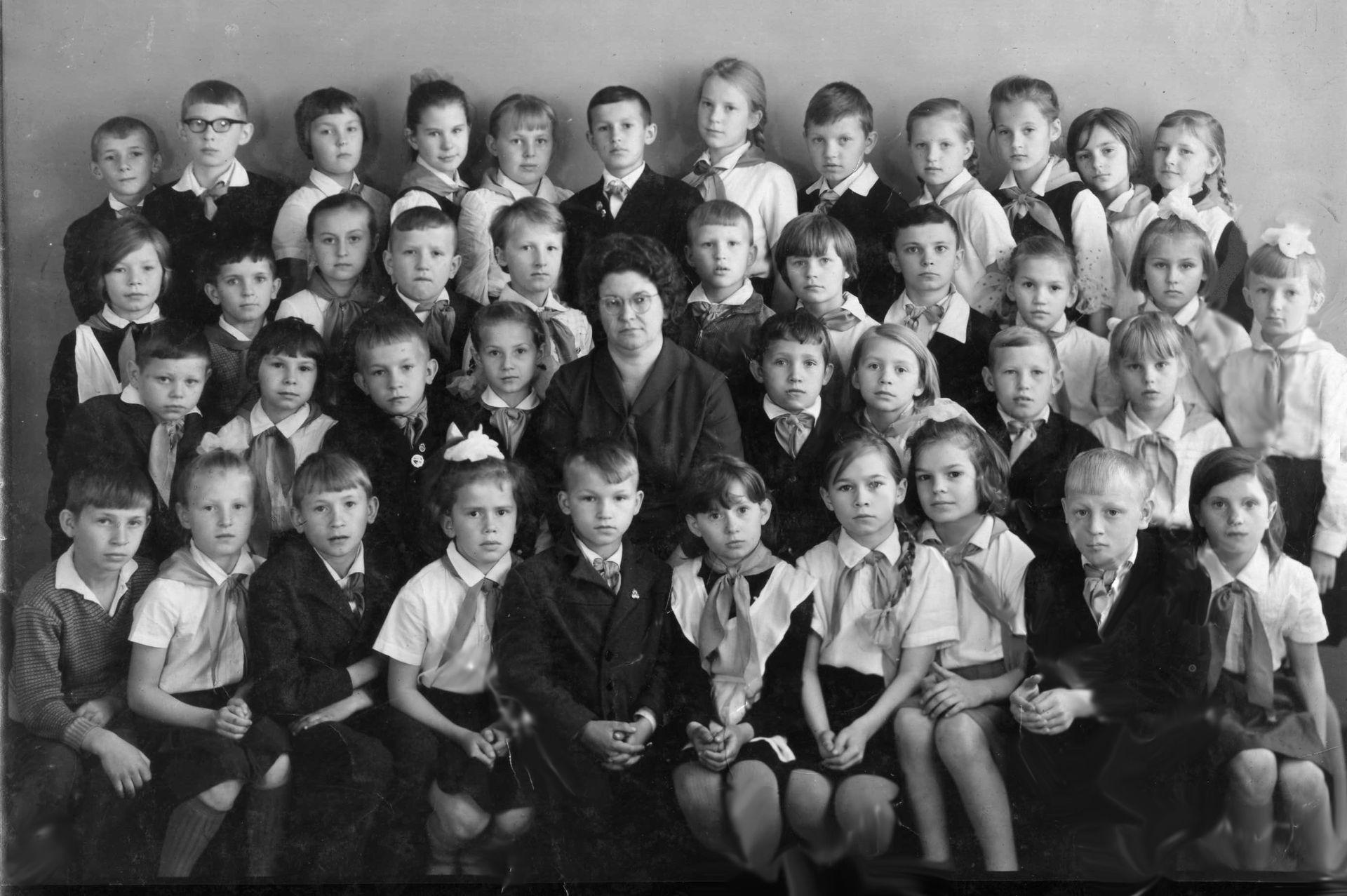 1966-67г 3 кл школа 16 Кемерово
