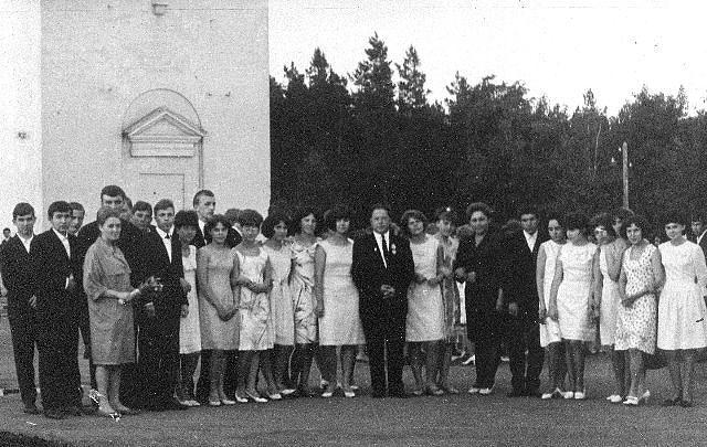 1967 год 10 З кл школа 16 Кемерово