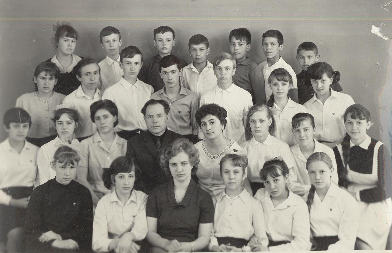 1968 год 8А кл школа 16 Кемерово