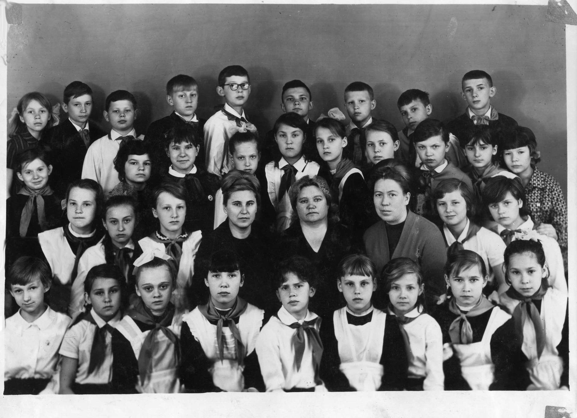 1969 год 5 кл школа 16 Кемерово