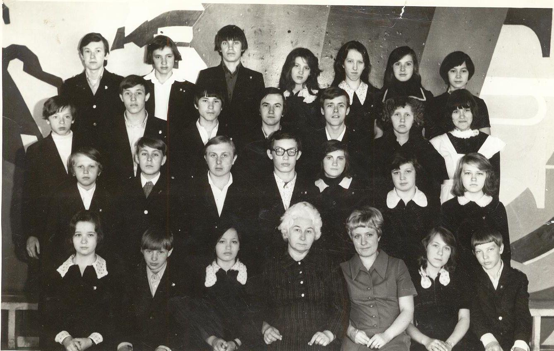 1978 год школа 16 Кемерово