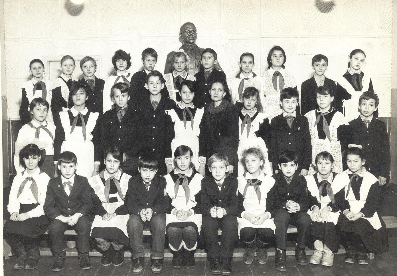 1988 год 5 В школа 16 Кемерово