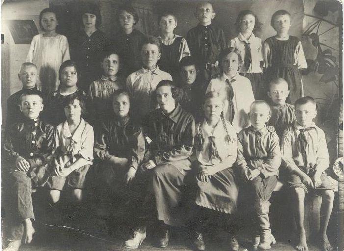 30-е годы школа 16 Кемерово